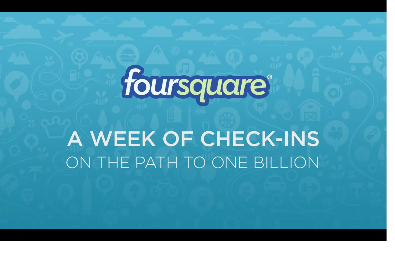Foursquare un miliardo di check-in