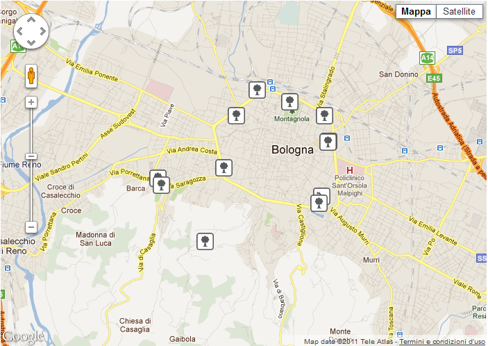 maps foursquare list