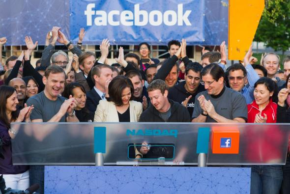 facebook si quota in borsa