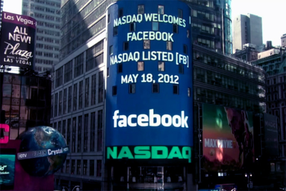 Facebook si quota al Nasdaq