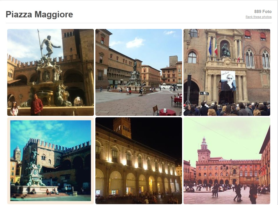 Foursquare new photo grid