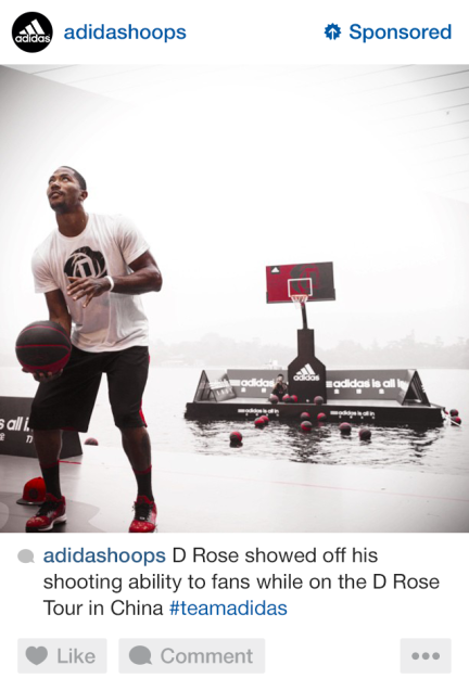 adidas instagram ads