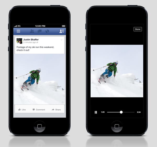 autoplay video ads facebook mobile