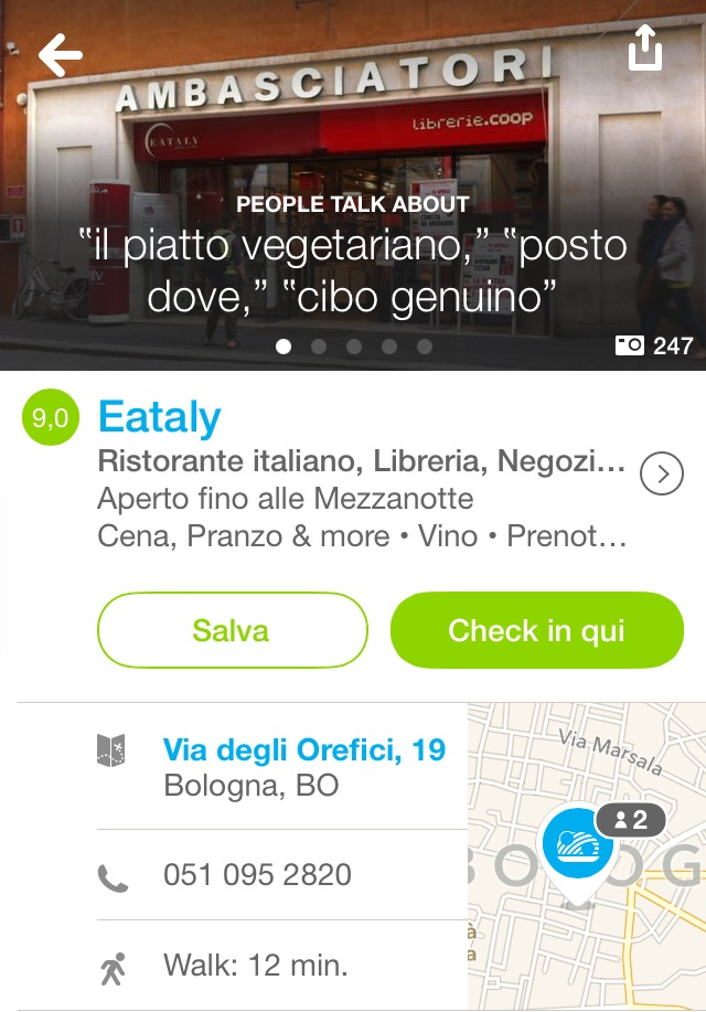 new venue on foursquare
