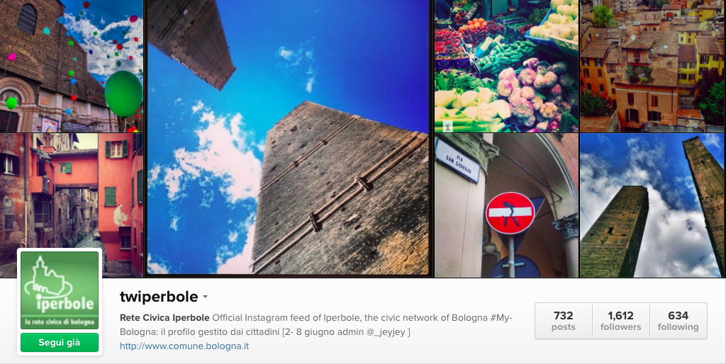 Twiperbole Instagram - MyBologna are You