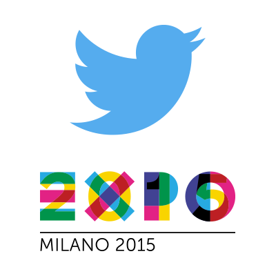 Twitter account Expo 2015