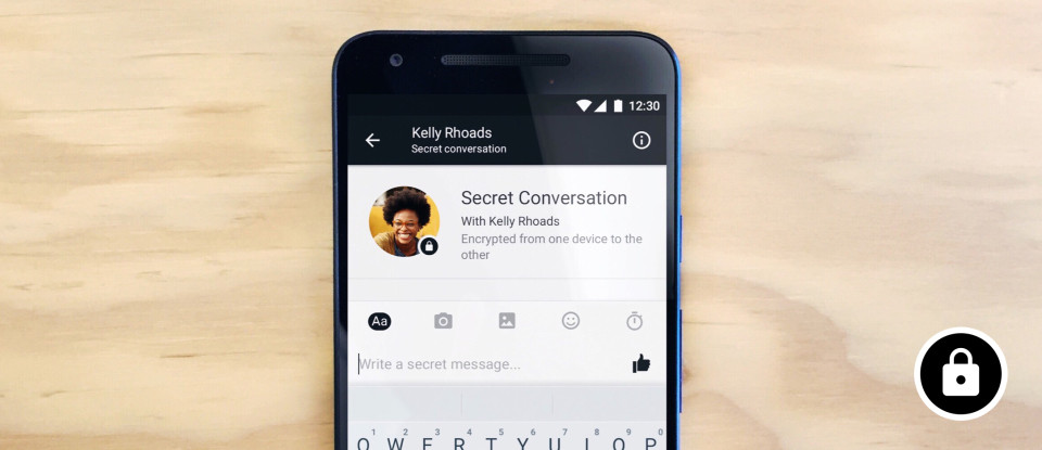 messenger attiva chat segrete