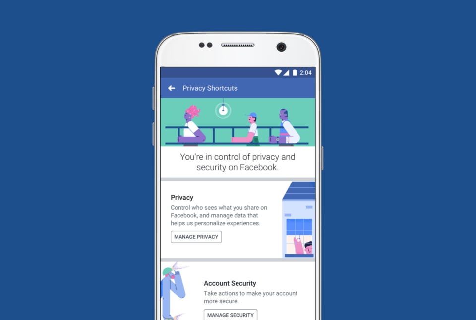 Facebook Privacy Shortcuts